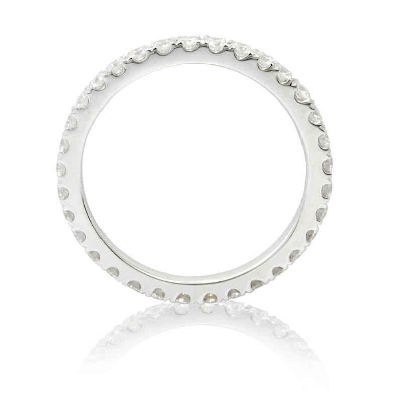 Diamond Eternity Platinum: .60ct Diamond Platinum Eternity Wedding Band Ring