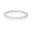 .60ct Diamond Platinum Eternity Wedding Band Ring