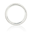 .60ct Ritani Bella Vita Collection Diamond 18k White Gold Eternity Wedding Band Ring