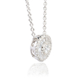.79ct Diamond 18k White Gold Pendant