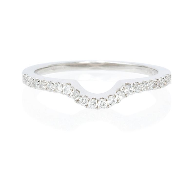 natalie k platinum wedding band ring guard
