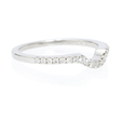 Natalie K Diamond Platinum Wedding Band Ring Guard