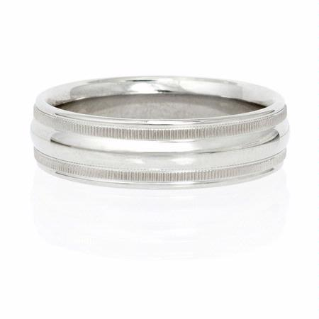 Ritani Men's Paladium Wedding Band Ring