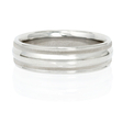 Ritani Men's Palladium Wedding Band Ring