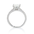 .26ct Diamond 18k White Gold Engagement Ring Setting