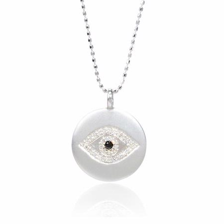 Diamond 14k White Gold Pendant