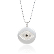 .10ct Diamond 14k White Gold Pendant
