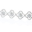 4.74ct Diamond 18k White Gold Bracelet