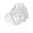 2.18ct Diamond 18k White Gold Ring