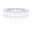 9.00ct Diamond Platinum Eternity Wedding Band Ring