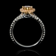 1.57ct Diamond 18k Two Tone Gold Ring