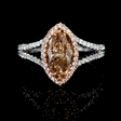 1.51ct Diamond 18k Two Tone Gold Ring