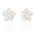 .97ct Diamond 18k White Gold Earrings