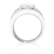2.23ct Diamond 18k White Gold Ring