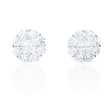 1.68ct Diamond 18k White Gold Earrings