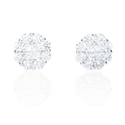 Diamond 18k White Gold Earrings