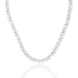 13.84ct Diamond 18k White Gold Necklace