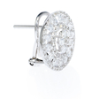 2.03ct Diamond 18k White Gold Earrings