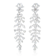 10.50ct Diamond 18k White Gold Chandelier Earrings