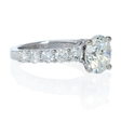 .93ct Diamond 18k White Gold Engagement Ring Setting