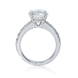 .39ct Diamond 18k White Gold Engagement Ring Setting