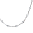 .77ct Diamonds by the Yard 18k White Gold Necklace