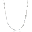 1.01ct Diamonds by the Yard 18k White Gold Necklace