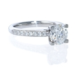 .23ct Diamond Platinum Engagement Ring Setting