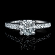 .25ct Diamond Platinum Engagement Ring Setting