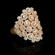 3.11ct Diamond 18k Rose Gold Ring