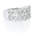 1.34ct Diamond 18k White Gold Ring