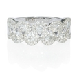 1.14ct Diamond 18k White Gold Ring