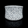 3.00ct Diamond 18k White Gold Ring