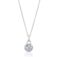 .76ct Diamond 18k White Gold Pendant