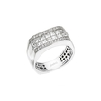 1.97ct Simon G Men's Diamond 18k White Gold Wedding Band Ring