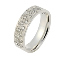 .65ct Men's Diamond 14k White Gold Wedding Band Ring
