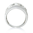 1.48ct Diamond 18k White Gold Ring
