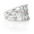 1.47ct Diamond 18k White Gold Ring