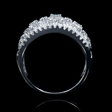 1.57ct Diamond 18k White Gold Openwork Ring