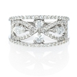 1.08ct Diamond 18k White Gold Ring
