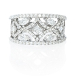 1.26ct Diamond 18k White Gold Ring