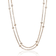 .66ct Diamonds By The Yard 18k Rose Gold Necklace