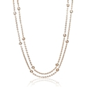 Diamonds By The Yard 18k Rose Gold Necklace