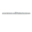 4.42ct Diamond 18k White Gold Tennis Bracelet