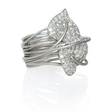 2.43ct Diamond 18k White Gold Ring