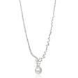 4.63ct Diamond and South Sea Pearl 18k White Gold Necklace