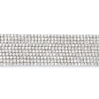 21.13ct Diamond 18k White Gold Bracelet