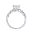 .94ct Diamond 18k White Gold Engagement Ring Setting