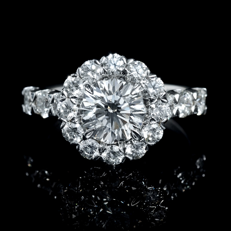 251ct christopher designs diamond 18k white gold