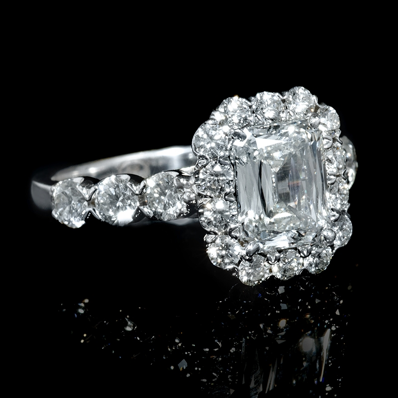 2 59ct christopher designs 18k white gold